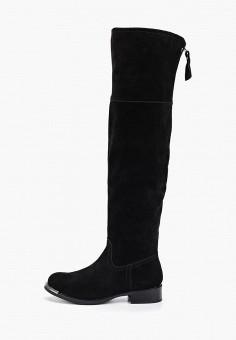 Ботфорты, Evita, цвет: черный. Артикул: EV002AWGMTB0. Обувь / Сапоги / Ботфорты