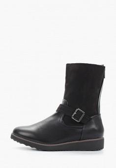 Полусапоги, Evans, цвет: черный. Артикул: EV006AWHRAU3. Обувь / Сапоги