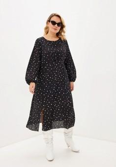 Платье, Evans, цвет: черный. Артикул: EV006EWIEWZ9. Одежда