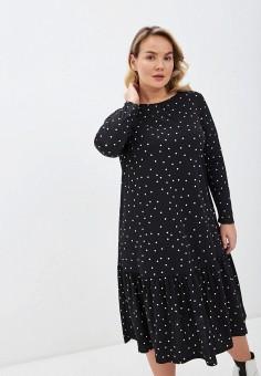 Платье, Evans, цвет: черный. Артикул: EV006EWIEXA2. Одежда / Платья и сарафаны / Повседневные платья
