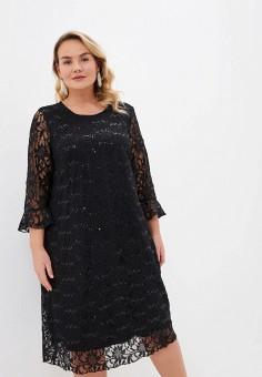 Платье, Evans, цвет: черный. Артикул: EV006EWIEXA6. Одежда / Платья и сарафаны / Вечерние платья