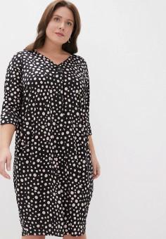 Платье, Evans, цвет: черный. Артикул: EV006EWINMV0. Одежда / Платья и сарафаны
