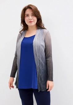 Накидка, Evans, цвет: серый. Артикул: EV006EWISPF3. Одежда / Одежда больших размеров