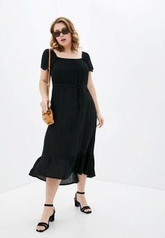 Платье, Evans, цвет: черный. Артикул: EV006EWJCTW3. Одежда / Платья и сарафаны / Повседневные платья