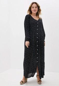 Платье, Evans, цвет: черный. Артикул: EV006EWJGIQ2. Одежда / Платья и сарафаны