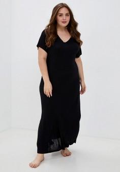 Сорочка ночная, Evans, цвет: черный. Артикул: EV006EWKICW4. Одежда / Домашняя одежда