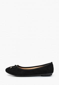Балетки, Exquily, цвет: черный. Артикул: EX003AWJCON4. Обувь / Балетки