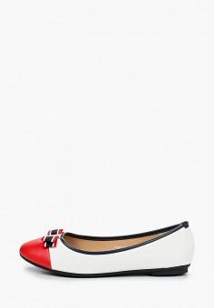Балетки, Exquily, цвет: белый. Артикул: EX003AWJCOP0. Обувь / Балетки