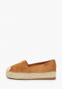 Эспадрильи, Exquily, цвет: коричневый. Артикул: EX003AWJCOS8. Обувь / Эспадрильи