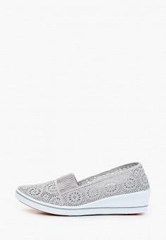 Туфли, Exquily, цвет: серый. Артикул: EX003AWJCOX2. Обувь