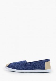 Слипоны, Exquily, цвет: синий. Артикул: EX003AWJCOX6. Обувь / Слипоны