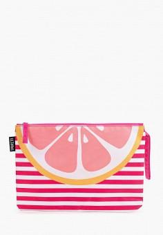 Косметичка, Fabretti, цвет: розовый. Артикул: FA003BWITRW6. Аксессуары