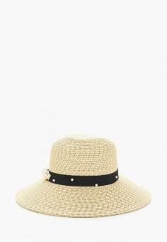 Шляпа, Fabretti, цвет: бежевый. Артикул: FA003CWARYP2. Аксессуары / Головные уборы