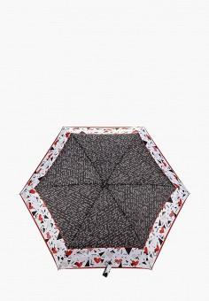 Зонт складной, Fabretti, цвет: мультиколор. Артикул: FA003DWEPQJ5. Аксессуары