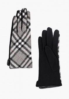 Перчатки, Fabretti, цвет: серый, черный. Артикул: FA003DWGSVU8. Аксессуары / Перчатки и варежки
