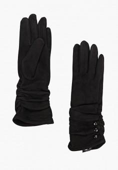 Перчатки, Fabretti, цвет: черный. Артикул: FA003DWGSVW2. Аксессуары / Перчатки и варежки