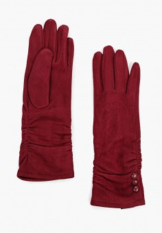 Перчатки, Fabretti, цвет: бордовый. Артикул: FA003DWGSVW3. Аксессуары / Перчатки и варежки