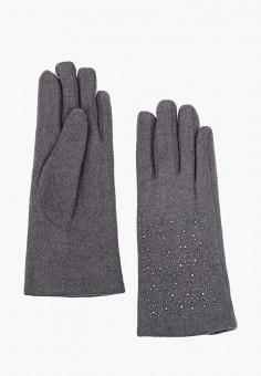 Перчатки, Fabretti, цвет: серый. Артикул: FA003DWGSVX6. Аксессуары / Перчатки и варежки