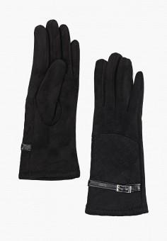 Перчатки, Fabretti, цвет: черный. Артикул: FA003DWGSVZ1. Аксессуары / Перчатки и варежки