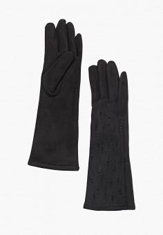 Перчатки, Fabretti, цвет: черный. Артикул: FA003DWGSVZ4. Аксессуары / Перчатки и варежки