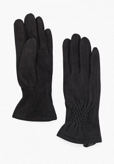 Перчатки, Fabretti, цвет: черный. Артикул: FA003DWGSWB7. Аксессуары / Перчатки и варежки