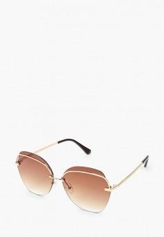 Очки солнцезащитные, Fabretti, цвет: золотой. Артикул: FA003DWIOCQ0. Аксессуары / Очки