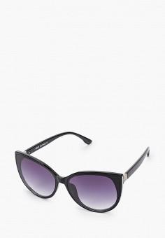 Очки солнцезащитные, Fabretti, цвет: черный. Артикул: FA003DWIOCV0. Аксессуары / Очки