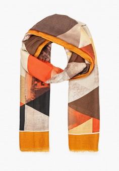 Палантин, Fabretti, цвет: коричневый. Артикул: FA003GWKHEW6. Аксессуары / Платки и шарфы