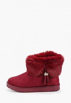 Полусапоги, Fashion & Bella, цвет: бордовый. Артикул: FA034AWHCQN1. Обувь / Сапоги / Угги и унты