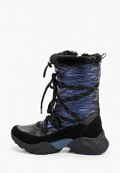 Дутики, Fashletics by Tamaris, цвет: синий. Артикул: FA040AWGAVN3. Обувь / Сапоги / Дутики