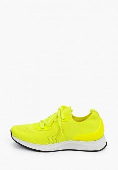 Кроссовки, Fashletics by Tamaris, цвет: желтый. Артикул: FA040AWIKGK7. Обувь / Обувь с увеличенной полнотой