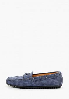 Мокасины, Fabi, цвет: синий. Артикул: FA075AMHXPM4.