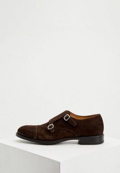 Туфли, Fabi, цвет: коричневый. Артикул: FA075AMKGWB9. Обувь / Туфли