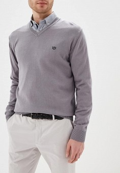 Пуловер, Felix Hardy, цвет: серый. Артикул: FE029EMDKMO8. Одежда / Джемперы, свитеры и кардиганы / Джемперы и пуловеры