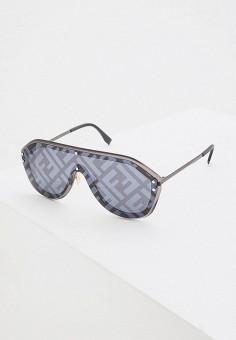 Очки солнцезащитные, Fendi, цвет: серый. Артикул: FE368DUHBJG0. Аксессуары