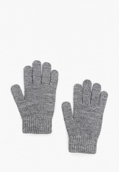 Перчатки, Ferz, цвет: серый. Артикул: FE913DWGQZF8. Аксессуары / Перчатки и варежки