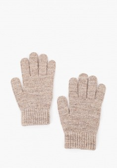 Перчатки, Ferz, цвет: бежевый. Артикул: FE913DWGQZF9. Аксессуары / Перчатки и варежки