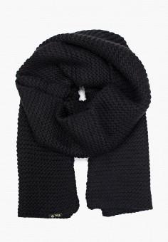 Шарф, Ferz, цвет: черный. Артикул: FE913GUGQZI1. Аксессуары / Платки и шарфы
