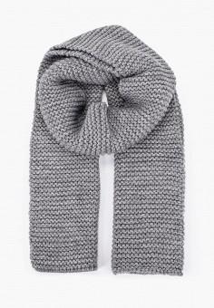 Шарф, Ferz, цвет: серый. Артикул: FE913GUGQZI2. Аксессуары / Платки и шарфы