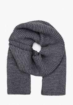Шарф, Ferz, цвет: серый. Артикул: FE913GUGQZI3. Аксессуары / Платки и шарфы