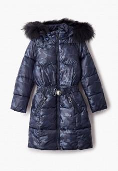 Куртка утепленная, Finn Flare, цвет: синий. Артикул: FI001EKJTES1.