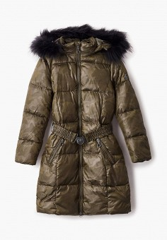 Куртка утепленная, Finn Flare, цвет: хаки. Артикул: FI001EKJTES2.