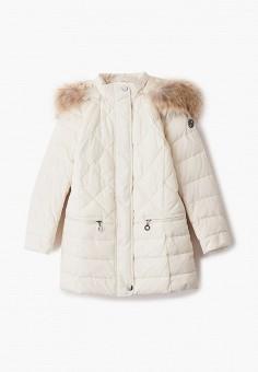 Куртка утепленная, Finn Flare, цвет: бежевый. Артикул: FI001EKJTES7.