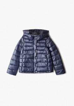 Куртка утепленная, Finn Flare, цвет: синий. Артикул: FI001EKJTES8.