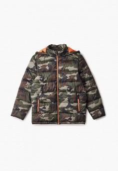 Куртка утепленная, Finn Flare, цвет: мультиколор. Артикул: FI001EKJTET9.