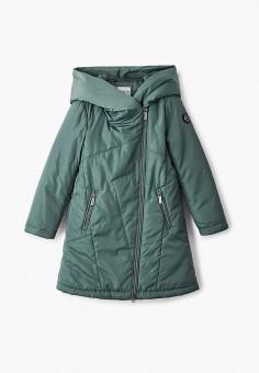 Куртка утепленная, Finn Flare, цвет: зеленый. Артикул: FI001EKJTEV3. Девочкам / Одежда / Верхняя одежда / Куртки и пуховики