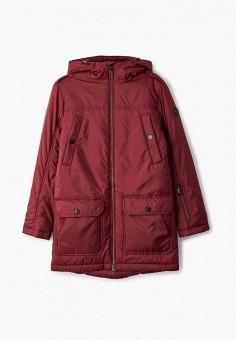 Куртка утепленная, Finn Flare, цвет: бордовый. Артикул: FI001EKJTEV6.