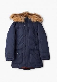 Куртка утепленная, Finn Flare, цвет: синий. Артикул: FI001EKJTEV8.
