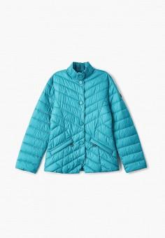 Куртка утепленная, Finn Flare, цвет: бирюзовый. Артикул: FI001EKJTEW7.