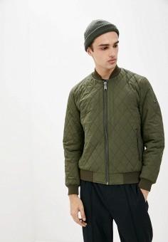 Куртка утепленная, Finn Flare, цвет: хаки. Артикул: FI001EMJSLM8.
